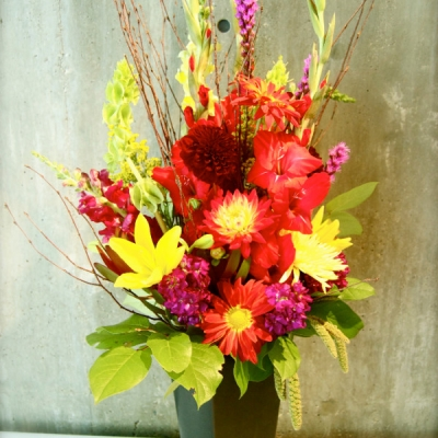 large floral arrangements