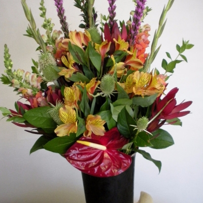 business floral arrangements