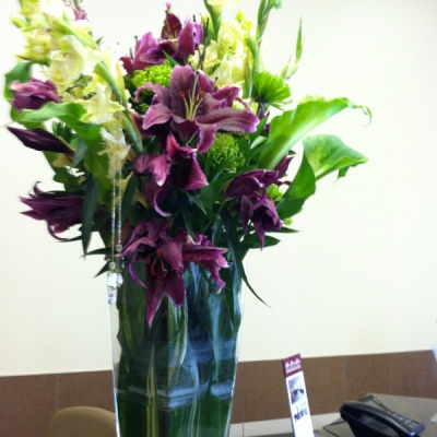 Office floral arrangements