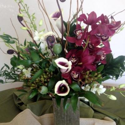 large floral arrangements