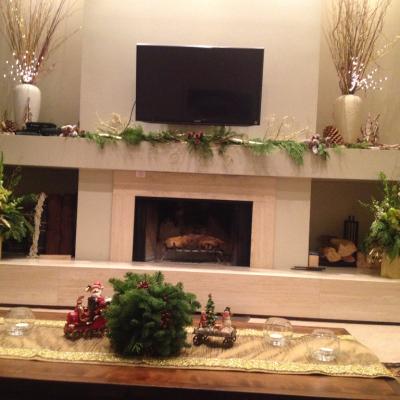 indoor holiday decor