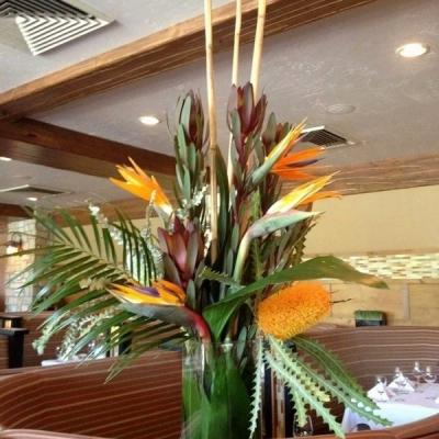 business floral arrangements